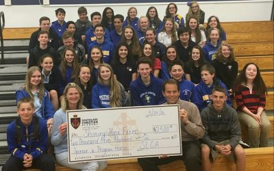 SouthLake Christian Academy 8th Grade Class Makes a Generous Donation