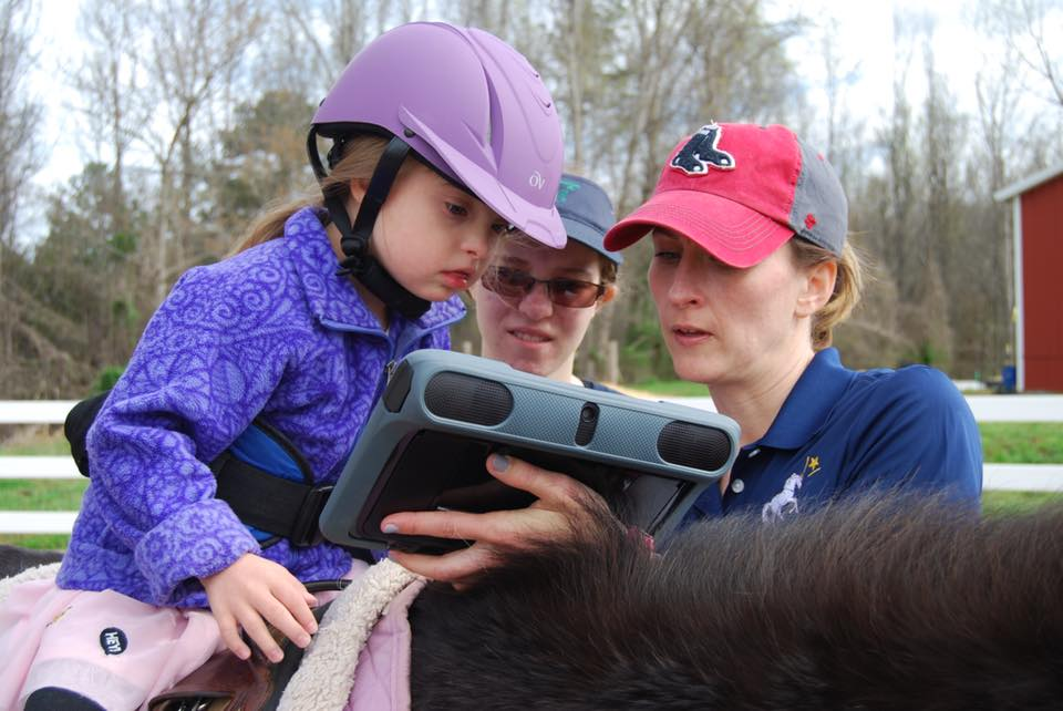 Learning to Communicate through Technology & Hippotherapy