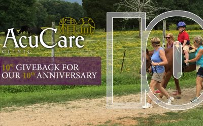 Shining Hope Farms to Receive 10% for AcuCare Clinic's 10th Anniversary